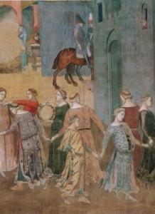 Lorenzetti_Ambrogio_Auswirkungen_des_guten_Regiments_auf_die_Stadt_Detail
